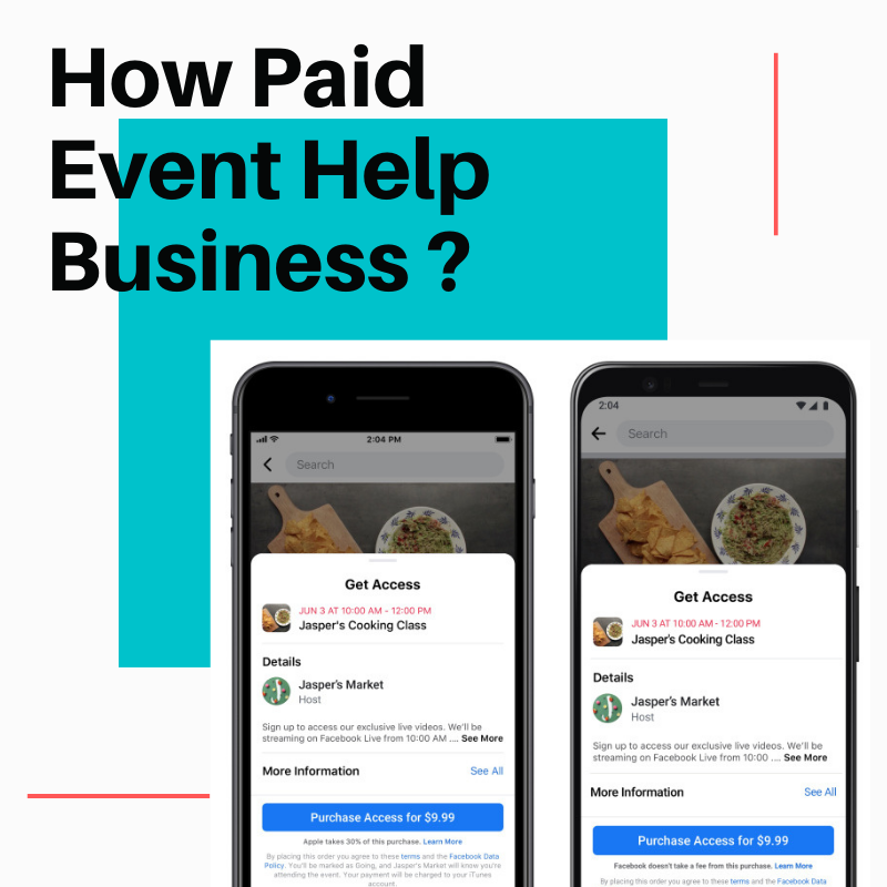Can Paid Event help business and creator